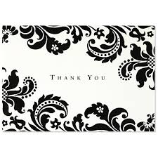 shadow tapestry thank you cards by pauper press outer layer