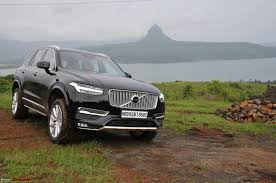 xc90 test drive driven volvo xc90 team bhp