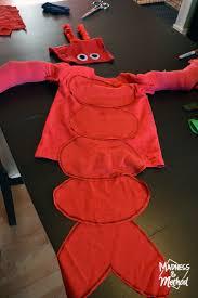 Lobster Costume Diy Family Costumes The Little Mermaid Madness U0026 Method
