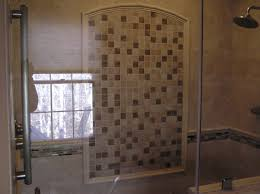 showers ideas small bathrooms tile shower ideas for small bathrooms black stained wooden