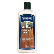 Cleaning Kitchen Cabinets by Thomasville 12 Oz Kitchen Cabinet Cream 580469t The Home Depot