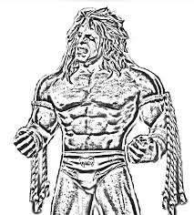 coloring download ultimate warrior coloring pages wwe ultimate