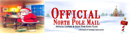 official letters from santa gift items official pole mail personalized letters from