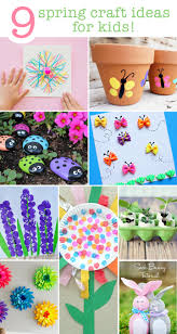 9 spring craft ideas for the kids save this list