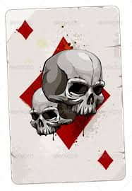 card with skulls by vecster graphicriver
