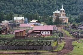 country towns most of russia s people live in cities but small towns and farms