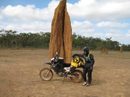 giant loop rider dan from australia 4300kms queensland to cape