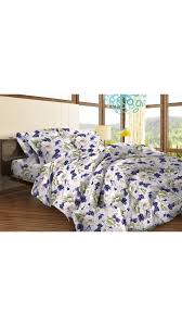 Bombay Dyeing Single Bed Sheets Online India Buy Bombay Dyeing Multicolor Double Bed Sheet With 2 Pillow Cover