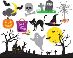 cute halloween ghost clipart image ghost clipart etsy