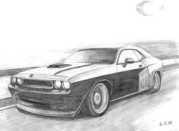 Dodge Challenger Drawing - echoo u0027s profile u203a autemo com u203a automotive design studio