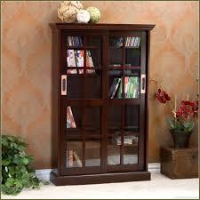 Black Dvd Cabinet Dvd Storage Cabinet With Glass Doors Best Cabinet Decoration
