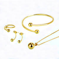 aliexpress buy hot gold plated 5mm 3 5mm tungsten 24k gold plated jewelry shop cheap 24k gold plated jewelry from