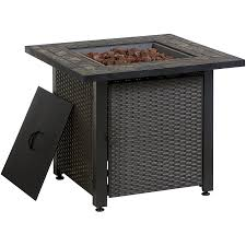 large propane fire pit table propane fire pit tables canada best table decoration