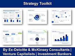 Amazon Com Strategy Toolkit In Powerpoint Excel By Ex Deloitte Mckinsey Ppt