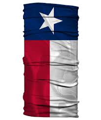 Texas Flag Image Texas Flag Neck Gaiter Face Shield Born Of Water