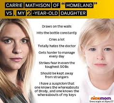 Carrie Meme - homeland meme carrie vs baby on bingememe