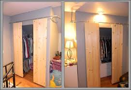 Build Closet Door Closets With Sliding Barn Style Doors 6 Steps With Pictures