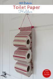 spare toilet paper holder diy fabric toilet paper holder et speaks from home