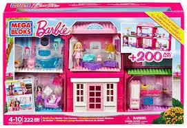 amazon com mega bloks barbie fab mansion toys u0026 games