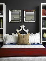 Mirrored Master Bedroom Furniture A Simplistic Light Blue Wall Will Keep The Interior Refreshing