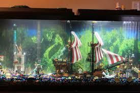 pirate lego fish tank in my home home decor pinterest