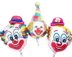 clown baloons clown balloons etsy