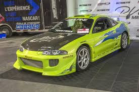 mitsubishi eclipse fast and furious fast and furious car editorial image image of green 105026835