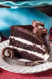 ho ho layer cake a chocolate dessert recipe with ganache