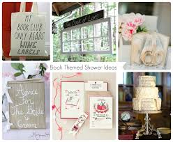 themed wedding shower book themed bridal shower inspiration aisle