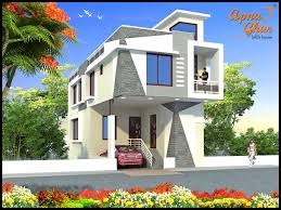 Duplex Home Plans 4 Bedrooms Duplex 2 Floors Home Area 90m2 6m X 15m Click Link