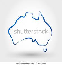 map australia map concept stock vector 126532955 shutterstock