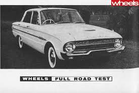 1965 ford falcon xp 70 000 mile marathon wheels