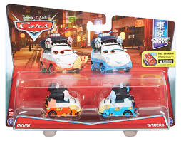 amazon disney pixar cars shigeko okuni vehicle 2 pack
