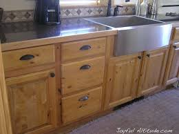 Kitchen Cabinet With Sink Best 25 Knotty Pine Kitchen Ideas On Pinterest Knotty Pine