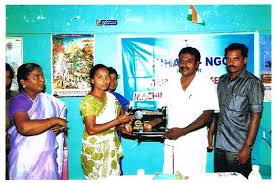 reports on sewing machine to poor youth to earn income globalgiving