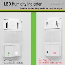 how to adjust motion sensor light switch in wall humidity motion detector switch