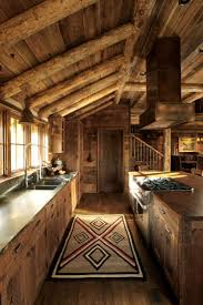 Kitchen Rustic Design by 25 Best Rustic Cabin Kitchens Ideas On Pinterest Rustic Cabin