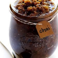 cuisine diy diy chai sugar scrub ส ตรสคร บเมล ดไช ง ายๆ ฉบ บโฮมเมด