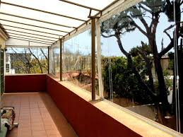 Clear Patio Roofing Materials by Outdoor Curtains Drapes And Shades Superior Awning