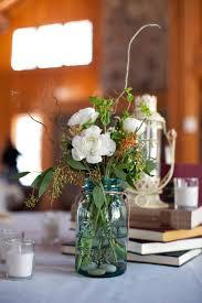 Ball Jar Centerpieces by 156 Best Mason Jar Flowers Images On Pinterest Marriage Flower