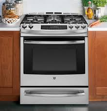 what is the best appliance brand for kitchen frigidaire professional vs ge profile gas slide ins reviews