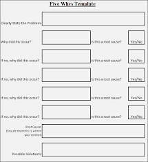 5 Whys Form 5 Whys Analysis Template Overview Study Enaction Info 5 Whys Form