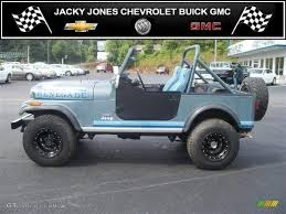 jeep 1982 1982 slate blue metallic jeep cj7 renegade 4x4 32846674