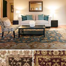 Veranda Living Indoor Outdoor Rug Hand Tufted Wool Transitional Paisley Area Rug 3 U00273