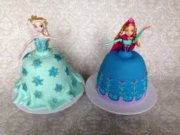 making elsa and anna doll cakes jada u0027s sweets