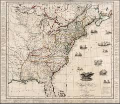 Unites States Map by A Scarce War Of 1812 Era Map Of The United States Rare U0026 Antique