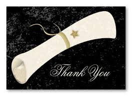 thank you cards for graduation stylish graduation diploma thank you cards stationery thank you