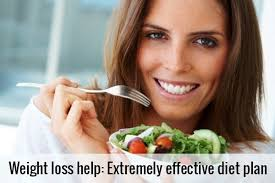weight loss help extremely practical diet plan