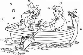 ursula coloring mermaid ariel coloring pages google