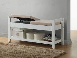 white wood storage bench modern ideal white wood storage bench